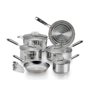 Performa Pro Stainless Steel 14-Piece Cookware Set Product Image
