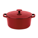 Cuisinart Chef's Classic Enameled Cast Iron 5 Quart Round Covered Casserole Product Image