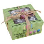 Fruits & Herbs Therapy Fizzy Bath Bomb Gift Set Product Image