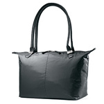 Jordyn Laptop Tote Bag Black Product Image