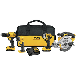 20VMAX 4 Tool Kit - Drill/Driver Impact Driver Saw & Light Product Image