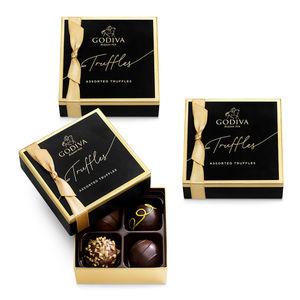 GODIVA 4 Piece Truffle Favors Product Image
