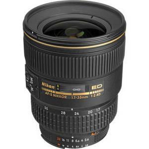 AF-S Zoom-NIKKOR 17-35mm f/2.8D IF-ED Lens Product Image