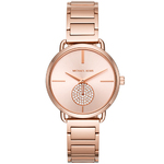 Ladies Portia Rose Gold SS Watch RG Dial w/ Crystal Subdial Product Image