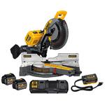 FLEXVOLT 120V MAX Sliding Miter Saw Kit w/ 2 Batteries Product Image