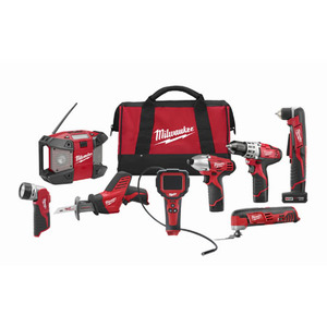 M12 8 Tool Combo Kit Product Image