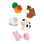 Pop Blocs Farm Animals Learning Toy Ages 6+ Months Product Image