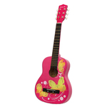 """30""""Acoustic Guitar Pink Butterfly Product Image"""