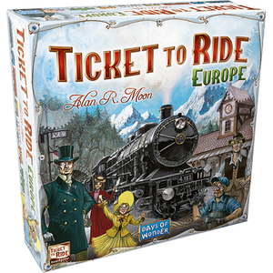 Ticket to Ride Europe Board Game Ages 8+ Years Product Image