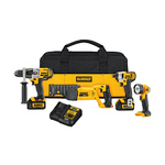 20V MAX Premium 4-Tool Combo Kit - Hammerdrill Recip Saw Driver LED Light Product Image