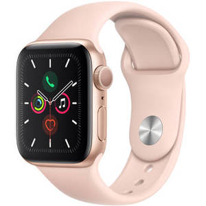 Watch Series 5 (GPS Only, 40mm, Gold Aluminum, Pink Sand Sport Band) Product Image