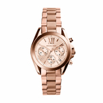 Ladies Bradshaw Rose Gold-Tone Chronograph Watch Product Image