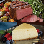 Filet Mignon & New York Style Cheesecake Product Image