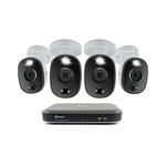 4 Camera 8 Channel 4K Full HD DVR Security System w/ True Detect Product Image