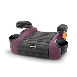 GoFit Backless Booster Car Seat Grape Product Image