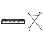 61-Key Lighted Musical Keyboard w/ Stand