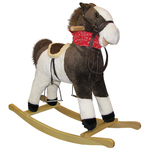 Pinto Beans Rocking Horse w/ Moving Mouth and Tail Product Image