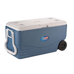 100Qt Xtreme 5 Wheeled Cooler Blue Product Image