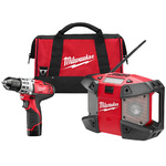 M12 Drill and Radio Combo Kit Product Image